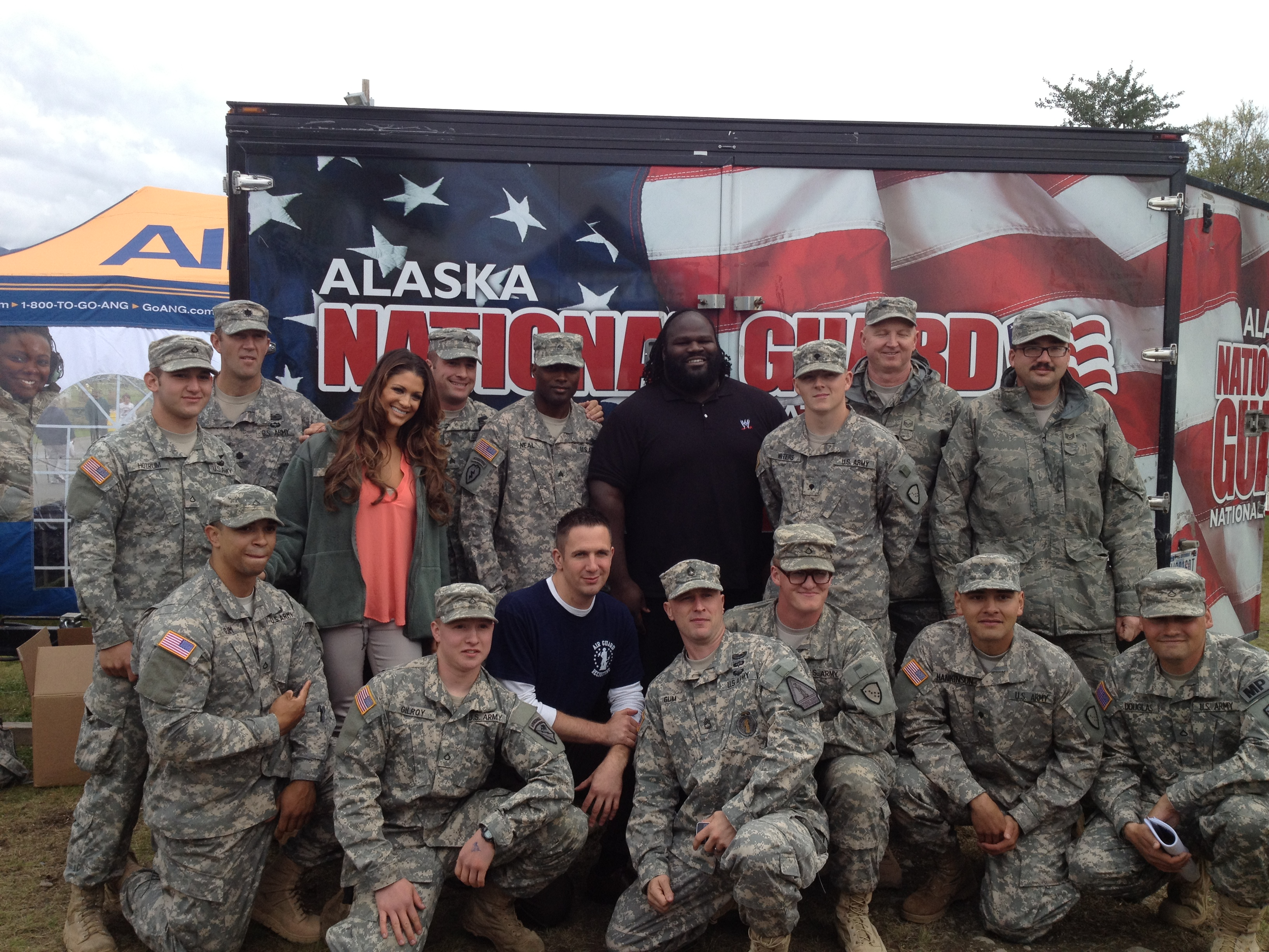 Me with the National Guard!